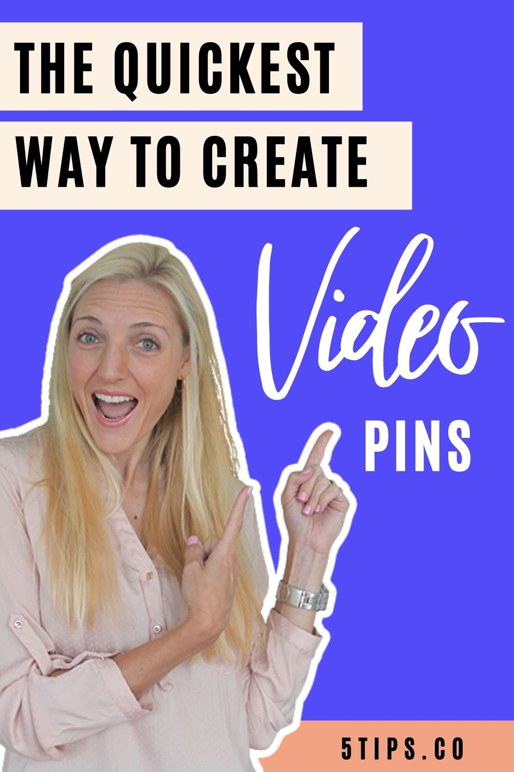The quickest way to create video pins for Pinterest